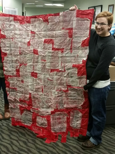 Quilt Delivered to WSU